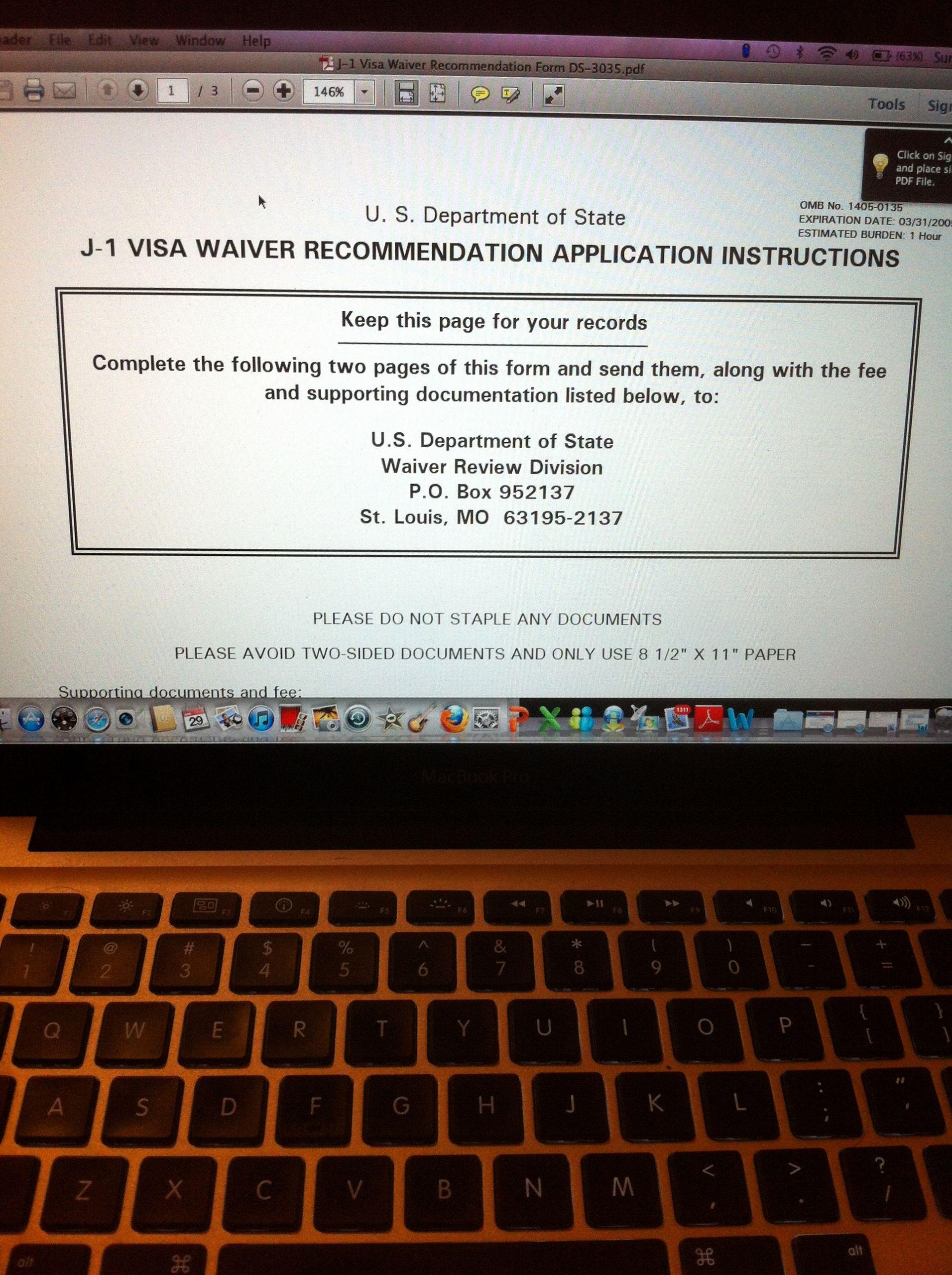 U Visa Personal Statement Sample Beautiful Sample Personal Statement for J1 Waiver Application