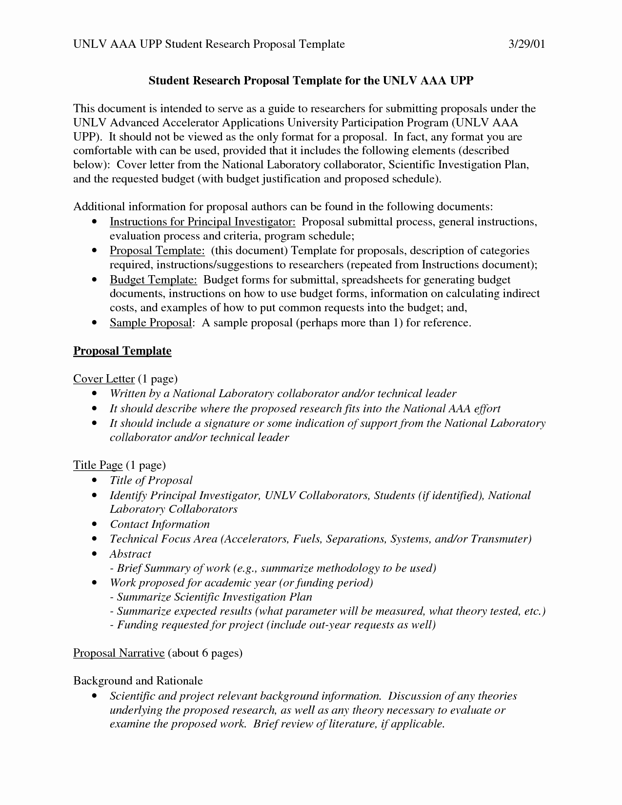 research proposal grant sample 7r