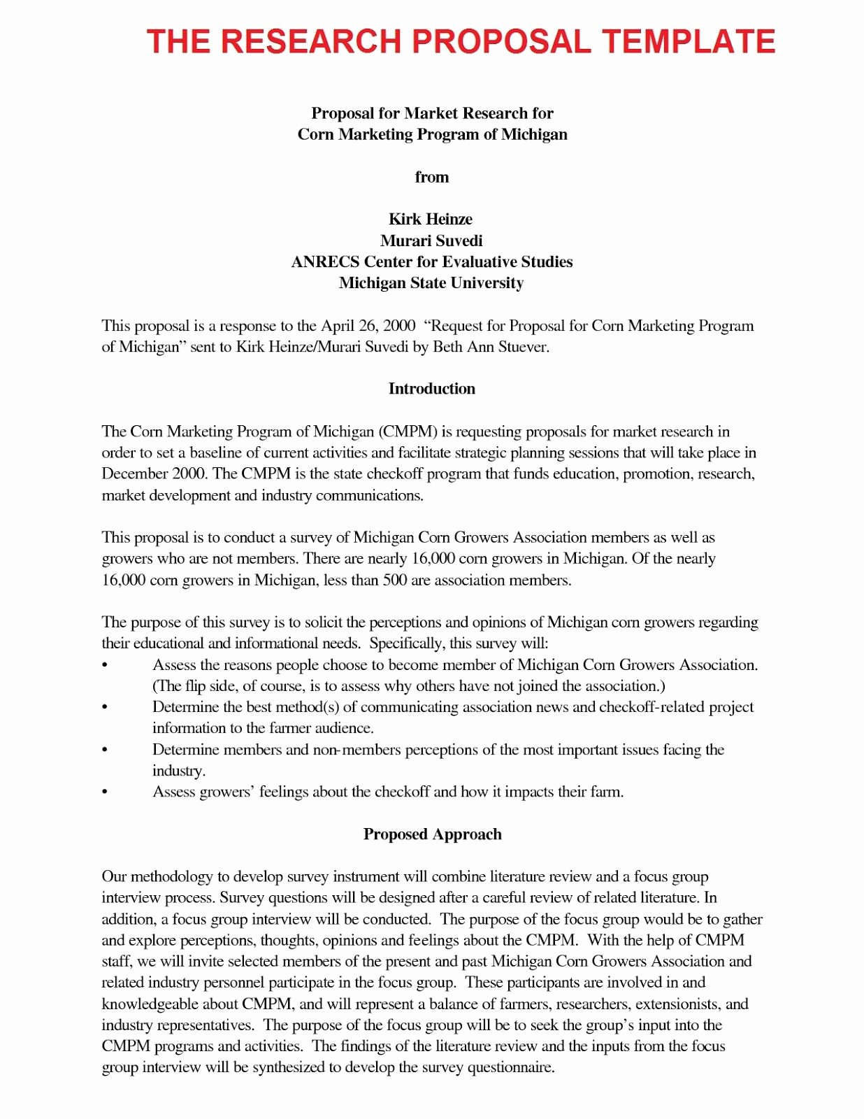 Undergraduate Research Proposal Examples New Research Proposal Engineering Research