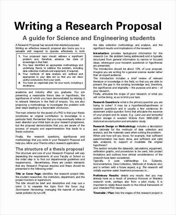 Undergraduate Research Proposal Examples Unique Examples Of Research Project Proposals Project Proposal