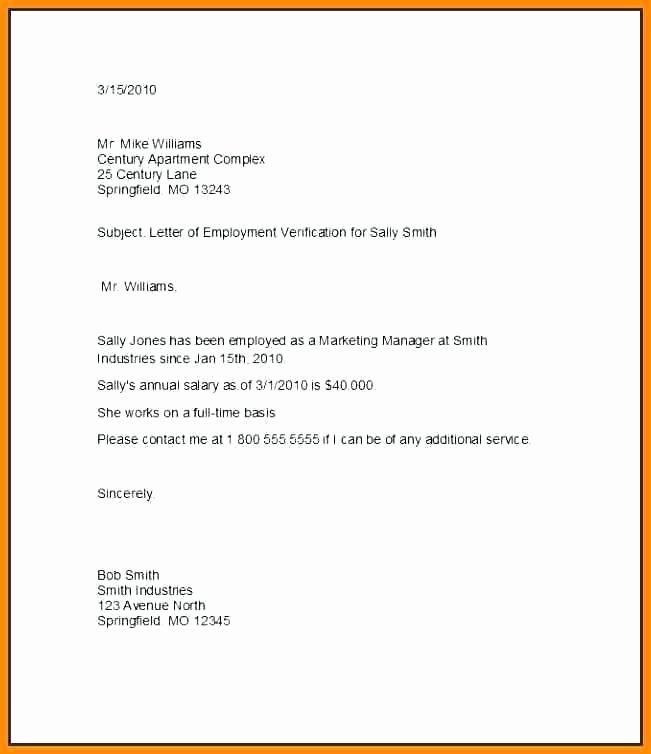Unemployed Letter Sample Lovely 12 13 Unemployment Verification Letter