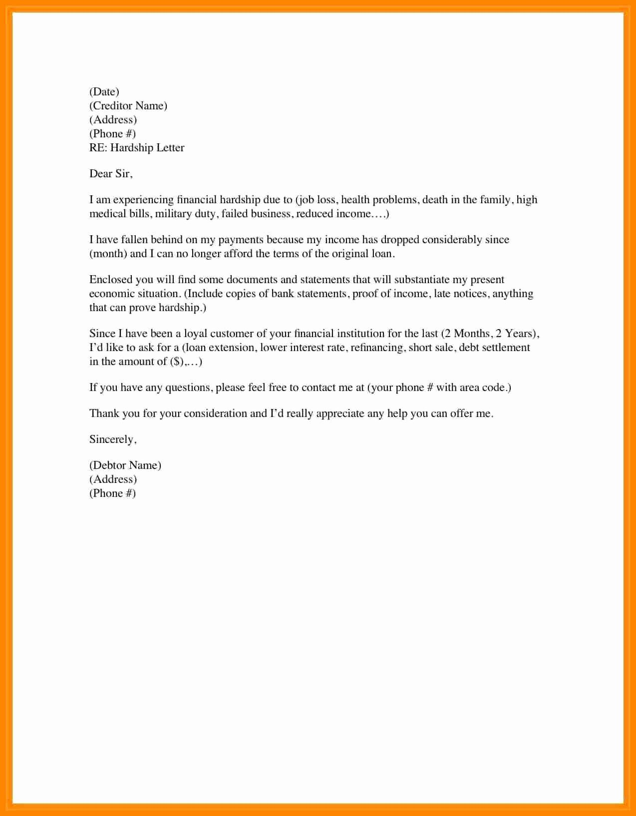 Unemployment Letter Template Elegant 7 How to Write Unemployment Letter