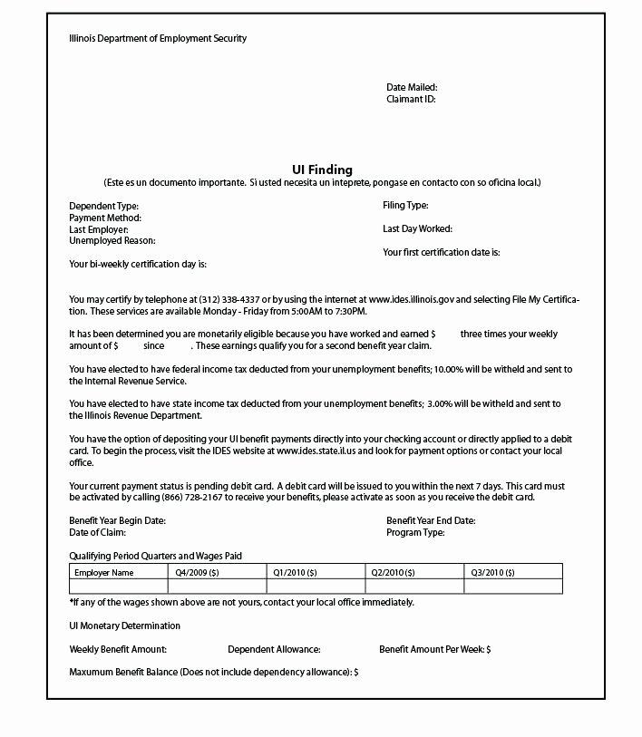 Unemployment Verification Best Of 14 15 Unemployment Verification Letter
