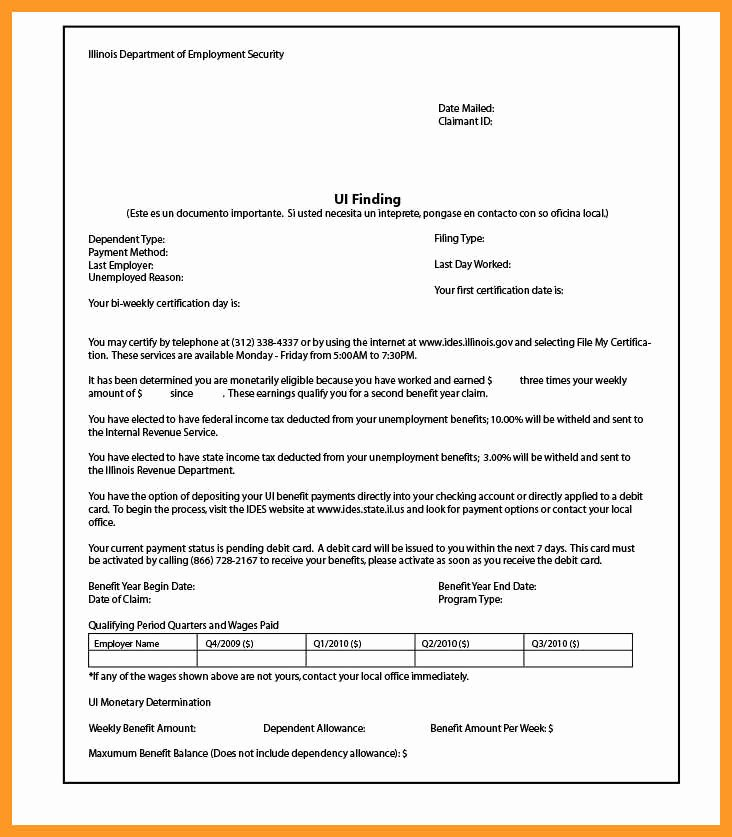 Unemployment Verification form Awesome 12 13 Unemployment Verification Letter