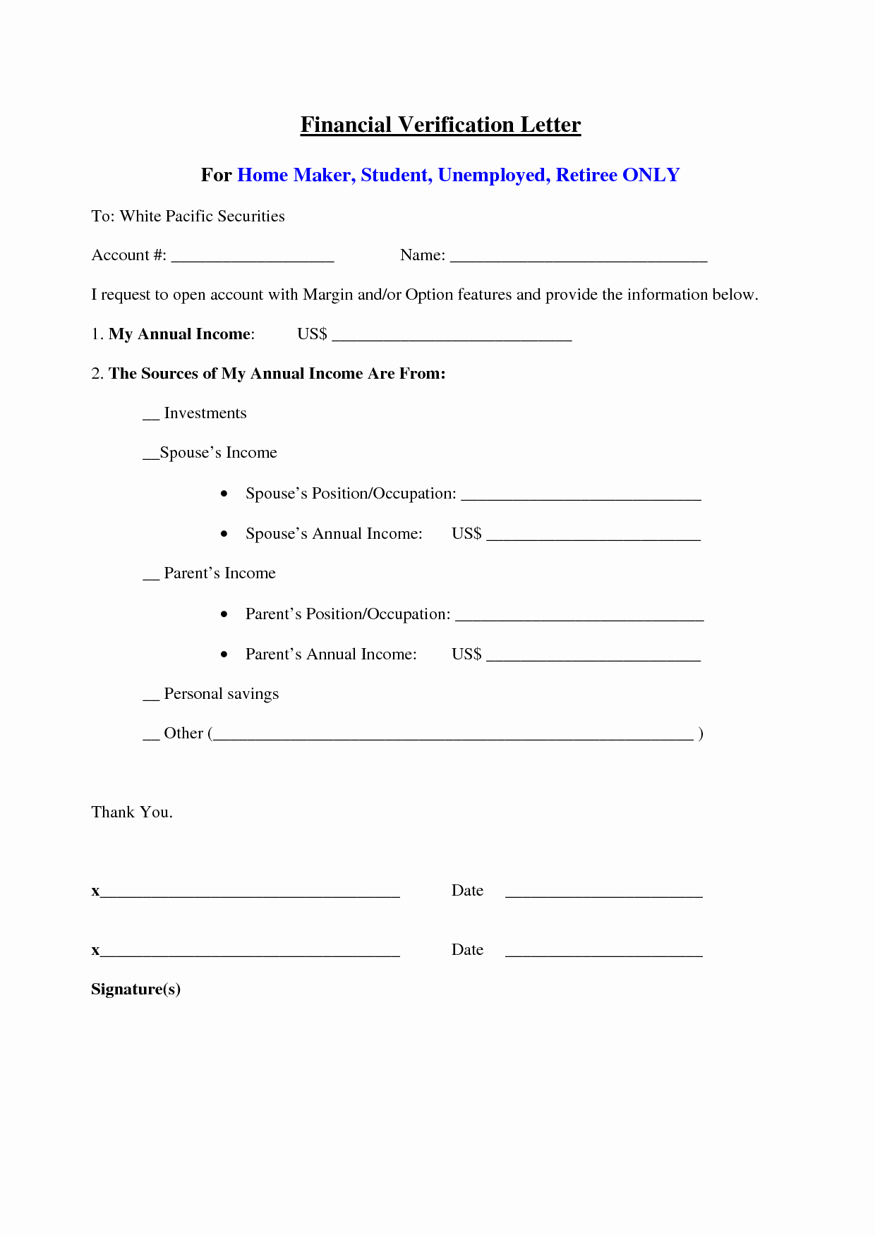Unemployment Verification Letter Sample Elegant 25 Of Unemployed Letter Template
