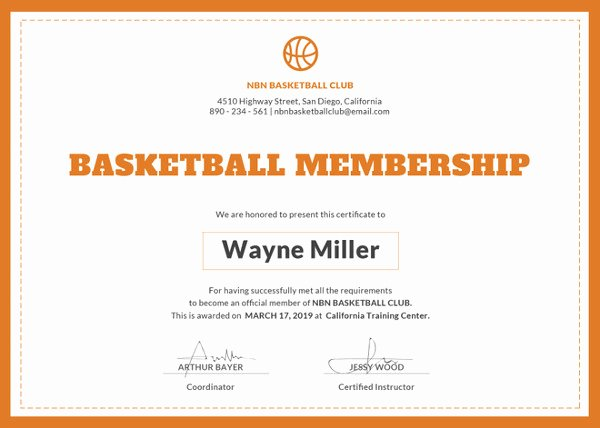 Uniform Certificate Of attendance Beautiful 23 Membership Certificate Templates Word Psd In