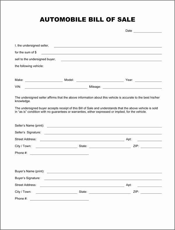Utah Automobile Bill Of Sale Unique Download Bill Sale forms Pdf Templates