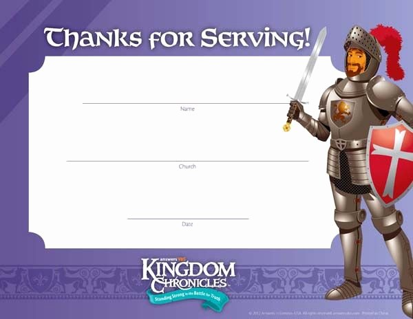 Vacation Bible School Certificate Templates Beautiful Kingdom Chronicles Vbs 2013 Pintrest