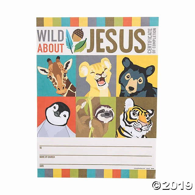 Vacation Bible School Certificates Printable Elegant Wild Encounters Vbs Certificates Of Pletion