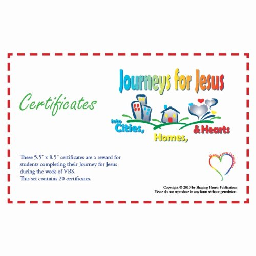 Vacation Bible School Certificates Printable Unique Shaping Hearts for God Children S Bible Class Curriculum