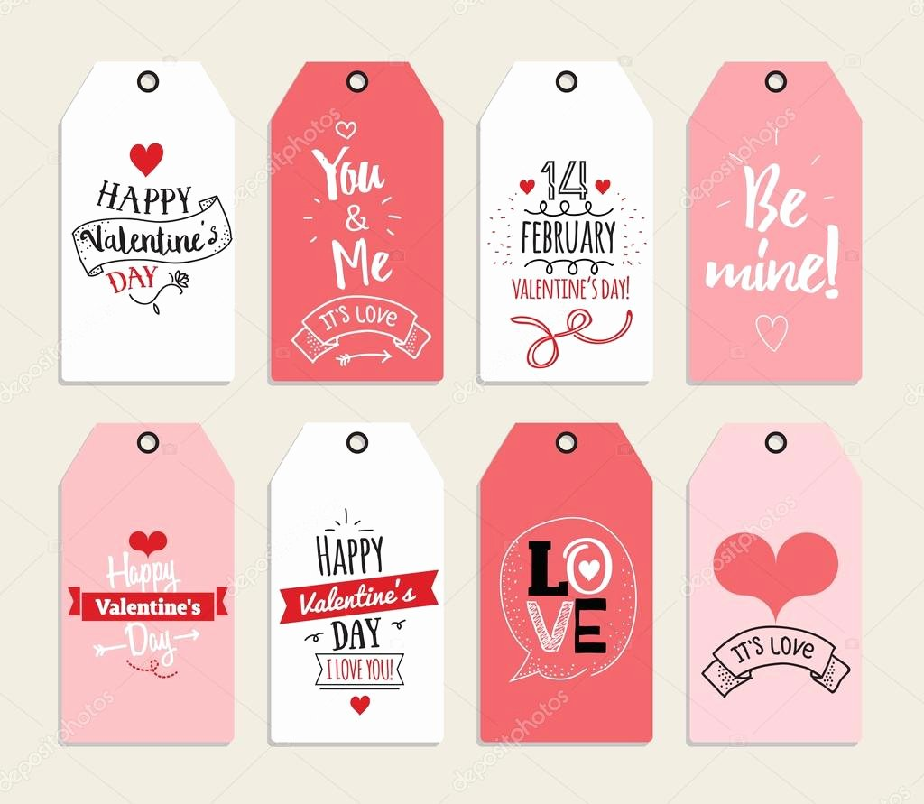 Valentine Gift Certificate Template Free Awesome Valentines Day T Cards Labels and Stickers Template