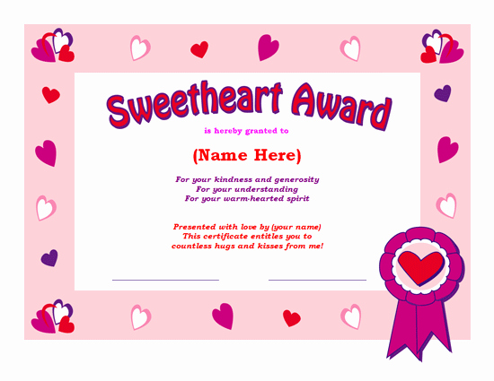 Valentine Gift Certificate Template Free Elegant the Love Ms Fice Templates and Printables for