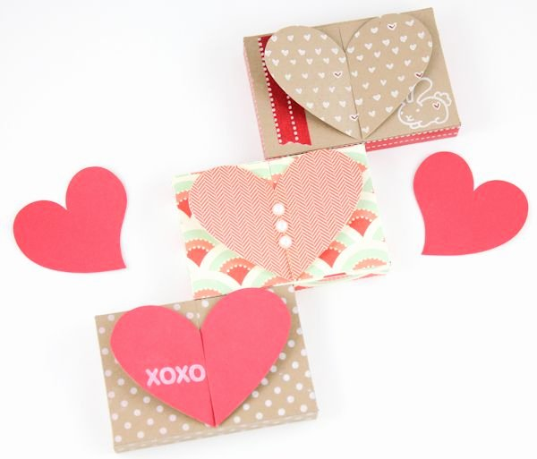 Valentine Gift Certificate Template Free Inspirational Free Valentine Gift Card Holder Heart top Box Templates