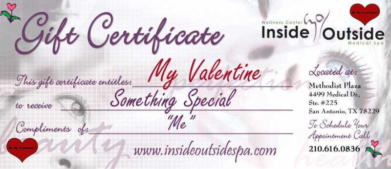 Valentine Gift Certificate Template Free Lovely Wallpaper Borders Beauty Salon