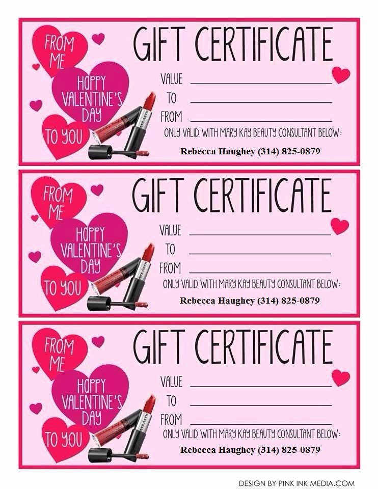 Valentine Gift Certificate Template Free New It S Almost Valentines Day Get Your Girl Your Best