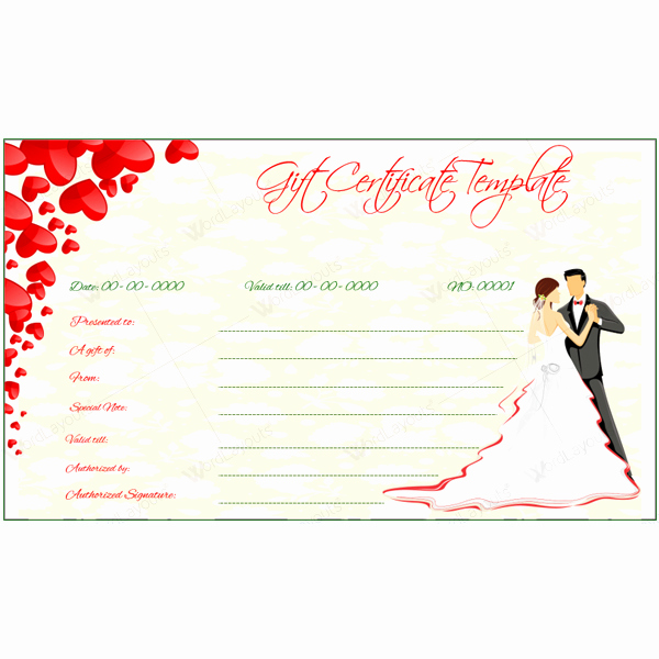 Valentine Gift Certificate Template Fresh 5 Gift Voucher Templates for Creating Gift Vouchers This