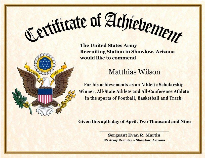 Veteran Appreciation Certificate Template New Certificate Achievement Wording – Planner Template Free