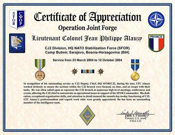 Veterans Appreciation Certificate Template Elegant 30 Certificate Of Appreciation Templates Word Pdf Psd