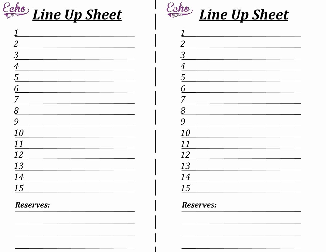 "Volleyball Lineup Sheet Printable Elegant Search Results for ""blank Volleyball Lineup Sheets"