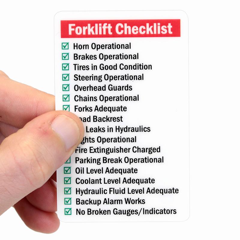 Wallet Size Certification Card Template Fresh Qualified forklift Driver Wallet Card Sku Bd 0395 Sl
