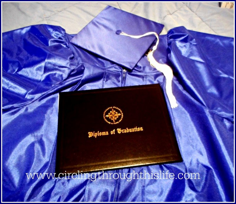 Wallet Size High School Diploma Luxury Circling Through This Life Graduation Day is Ing Do