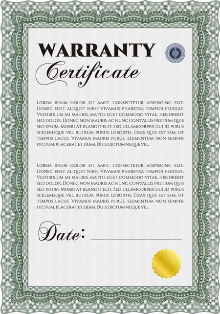 Warranty Certificate Template Word Fresh Sample Warranty Certificate Template Elegant Design with
