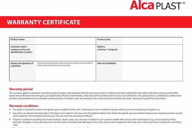 Warranty Certificate Template Word Lovely 28 Of Warranty Template