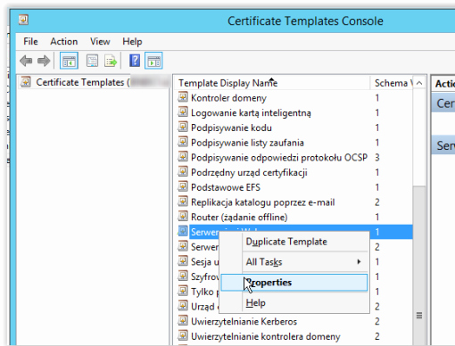 Web Server Certificate Template Lovely Certificate Authority – Certificate with Subject