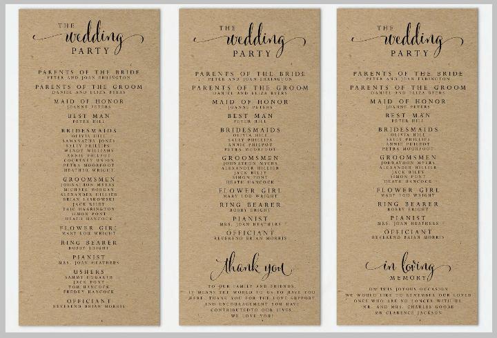 Wedding Program Template Google Docs Lovely 14 Wedding Program Templates Psd Ai