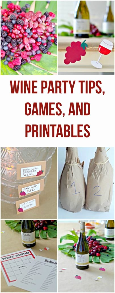 Wine Tasting Games Printable Elegant Wine Party Tips Games and Printables – Val event Gal