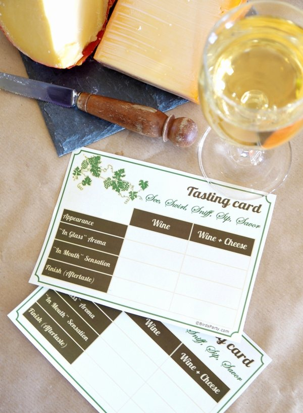Wine Tasting Games Printable New Cheese & Wine Party Ideas with Free Printables Party