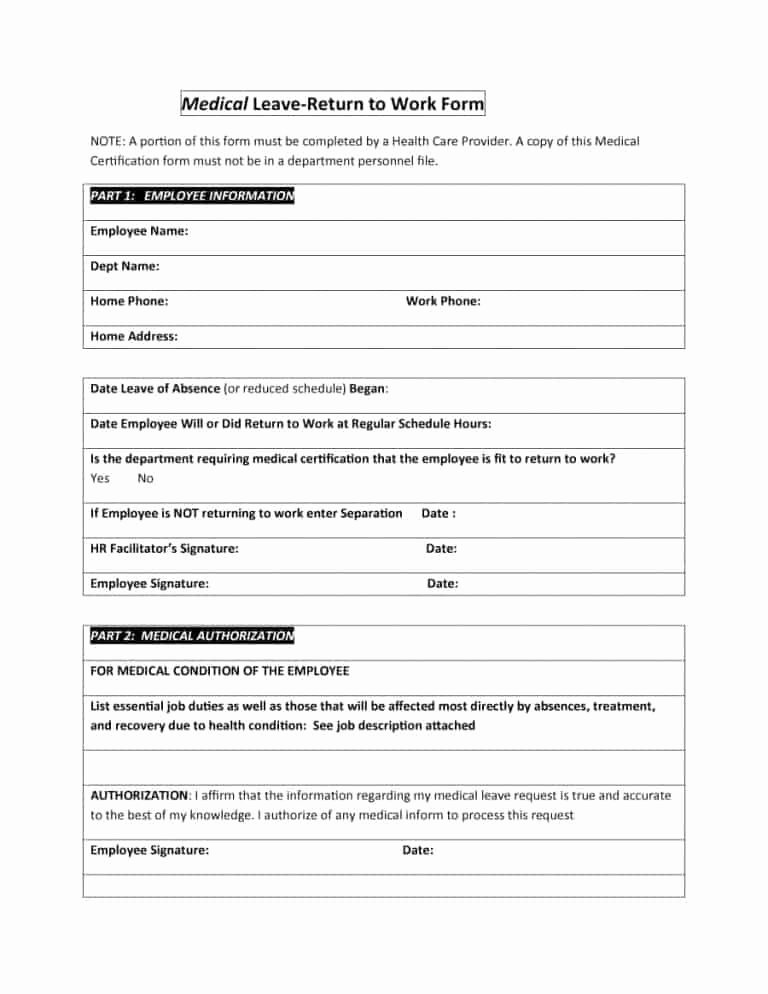 Work Restriction Letter Elegant Unique Return to Work with Restrictions Letter