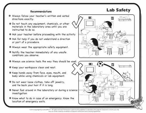 Worksheet Lab Safety Symbols Inspirational Science Safety Worksheets Science Alistairtheoptimist