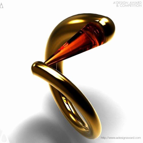 World's Best Friend Award Beautiful Award Winning Red Ring Ring Life Design Magazine
