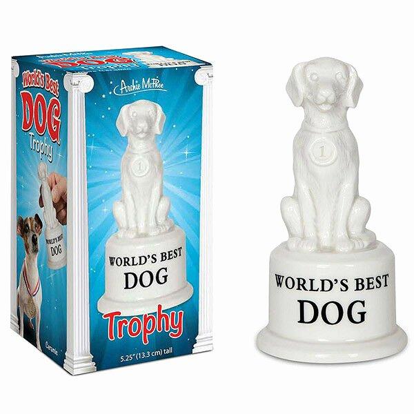 World's Best Friend Award Luxury World S Best Dog Trophy Ceramic Novelty Pet Lovers Gag