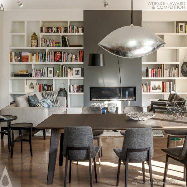 World's Best Friend Award New Modern Palazzo by Mood Works Dorota Kuc & Karina Snuszka
