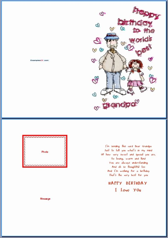 World's Best Grandpa Certificate Printable Best Of Example Of Birthday Card for Grandpa World S Best Grandpa