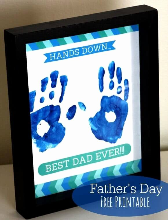 World's Best Grandpa Certificate Printable Inspirational 19 Father's Day Handprint Gift Ideas Spaceships and
