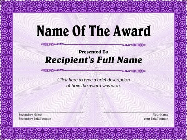 World's Best Grandpa Certificate Printable Luxury 99 Free Printable Certificate Template Examples In Pdf
