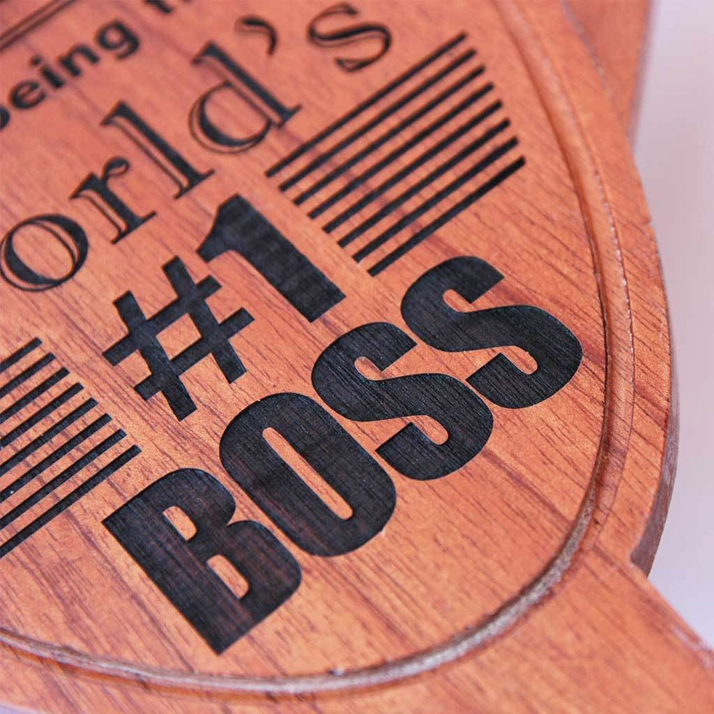 Worlds Best Boss Certificate Elegant World S Best Boss Award Trophy Wooden Trophy Thank You