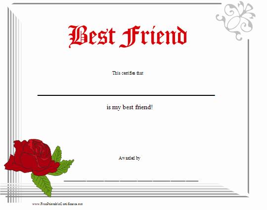 Worlds Best Friend Award Awesome شهادات شكر وتقدير لاحلى ملكات