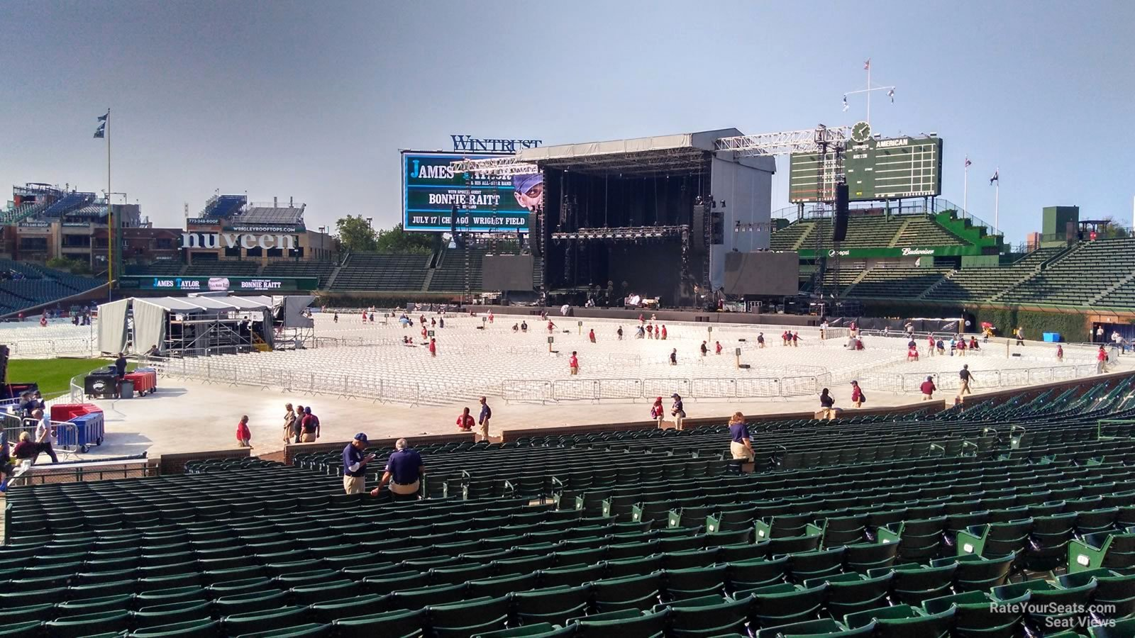 Wrigley Field Concert Seating Chart with Seat Numbers Awesome Wrigley Field Section 131 Concert Seating Rateyourseats