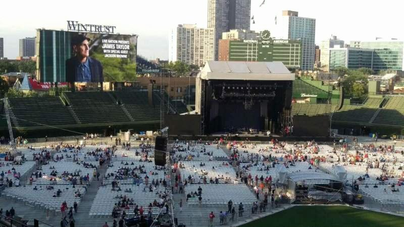 Wrigley Field Concert Seating Chart with Seat Numbers Luxury Wrigley Field Section 314l Row 6 Seat 19 James Taylor