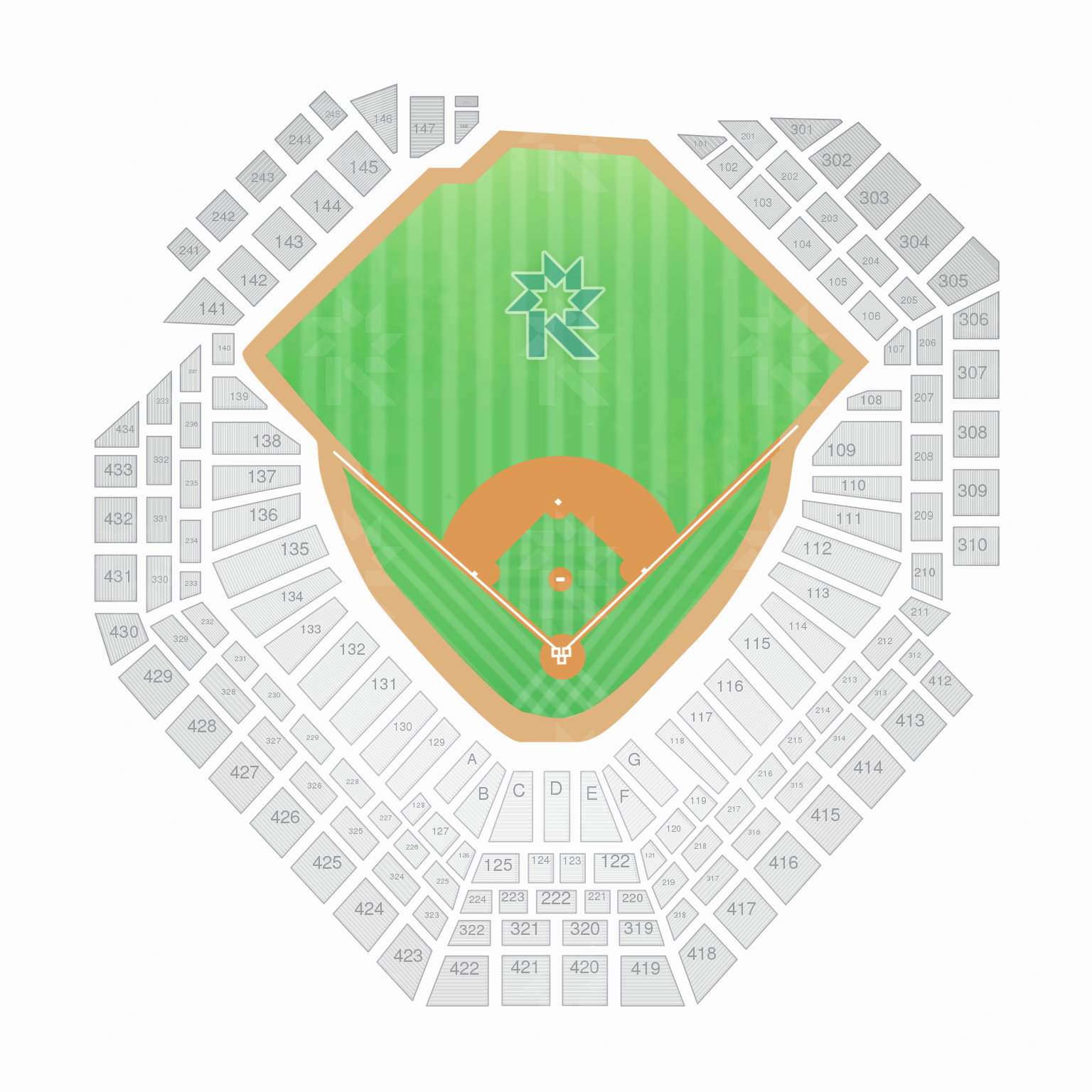 Wrigley Field Seat Map with Seat Numbers New Citizens Bank Park Seating Chart with Seat Numbers
