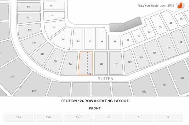 detailed wrigley field seating chart