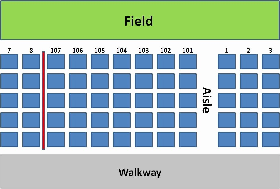 Wrigley Field Seating Chart with Rows and Seat Numbers Fresh Tales From Aisle 424 A Cubs Blog Finding the Right Seat 101