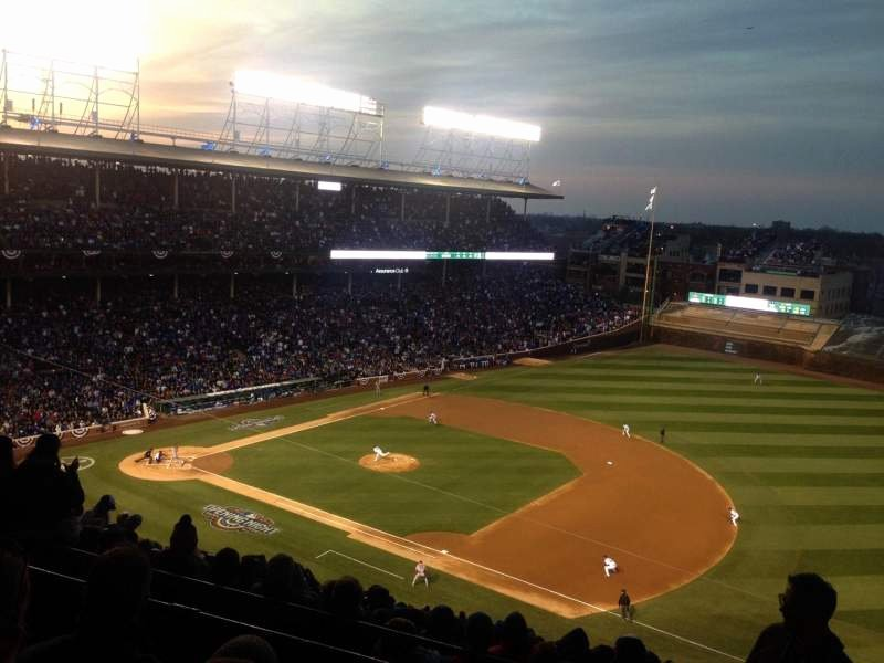 Wrigley Seating Chart with Rows Elegant Wrigley Field Section 427r Row 3 Seat 9 Chicago Cubs