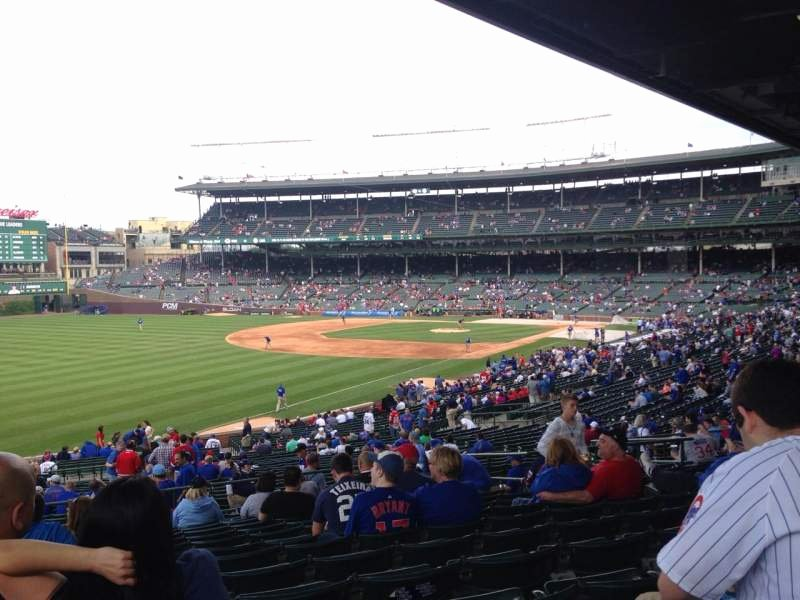 Wrigley Seating Chart with Rows Luxury Wrigley Field Section 204 Row 15 Seat 18 Chicago Cubs