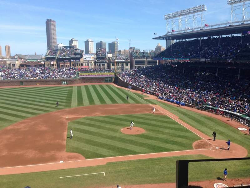 Wrigley Seating Chart with Rows Luxury Wrigley Field Section 310l Row 2 Seat 15 Chicago Cubs