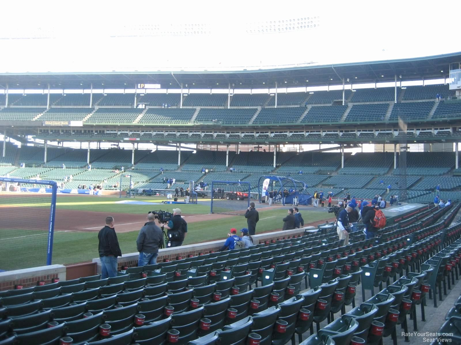 Wrigley Seating Chart with Rows Luxury Wrigley Field Section 8 Chicago Cubs Rateyourseats